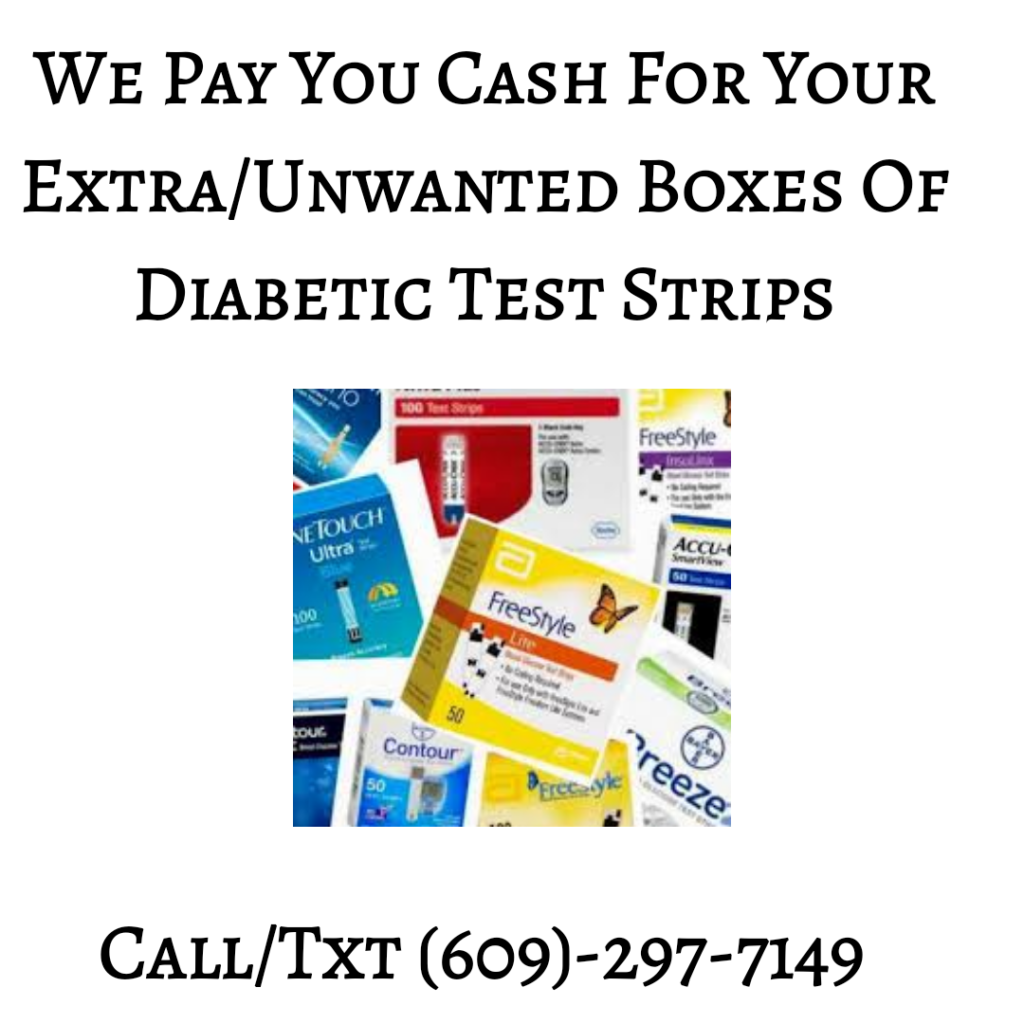 sell your diabetic test strips for cash